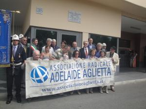 Torino_Adelaide Aglietta_Giuseppe Rissone_politica